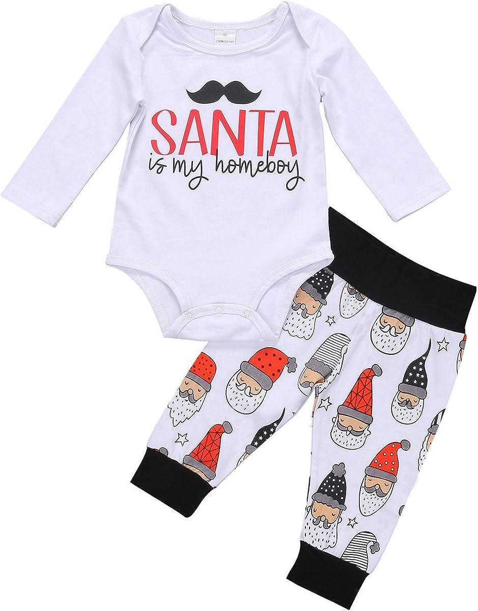 Let It Snow Falling Snowflakes Christmas Baby Romper Bodysuit