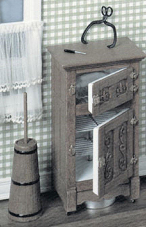 Dollhouse Miniature Chrysnbon Ice Box Kit