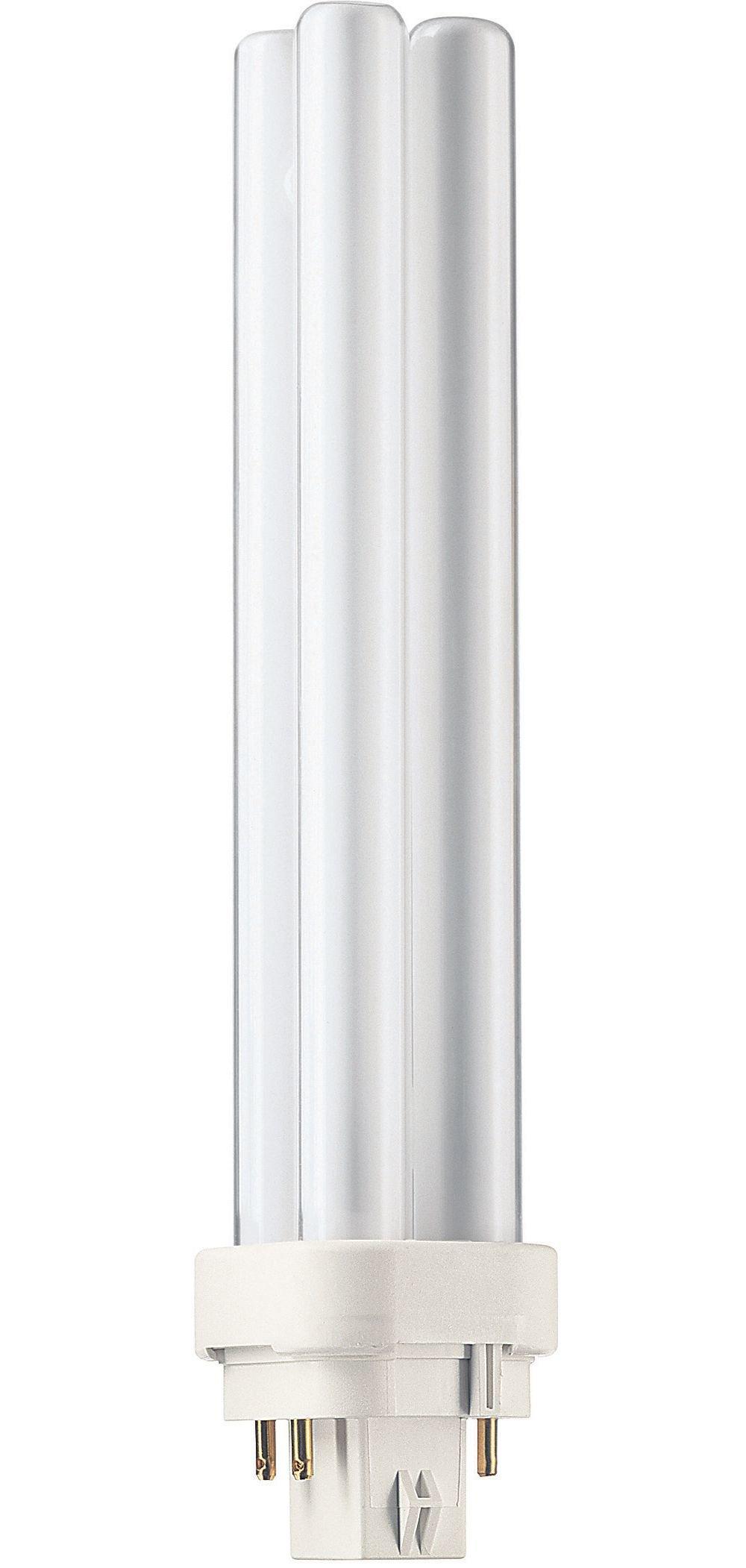 Philips 230425 Energy Saver Compact Fluorescent Non-Integrated 26-Watt PL-C Soft White 4-Pin Base Light Bulb