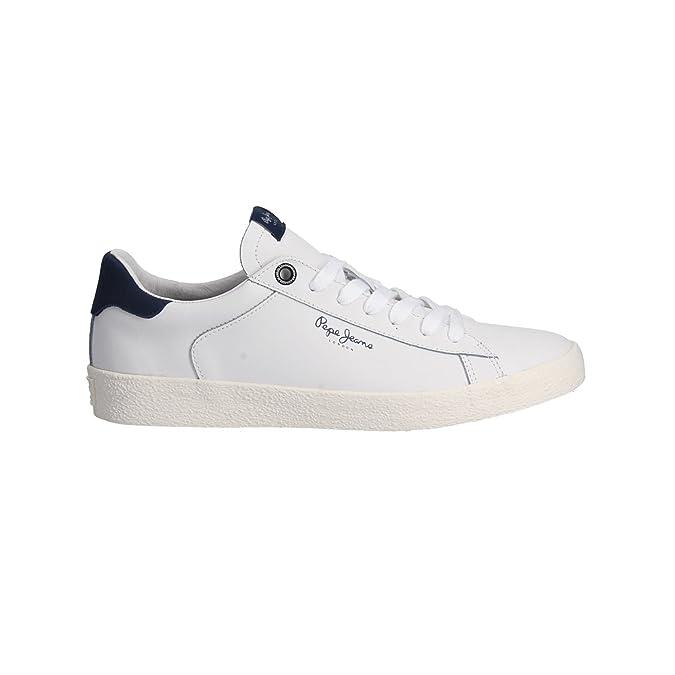 Pepe Jeans Footwear MS30435 Portobello Bianco 800 Taglia 41 WRuJvtIEn