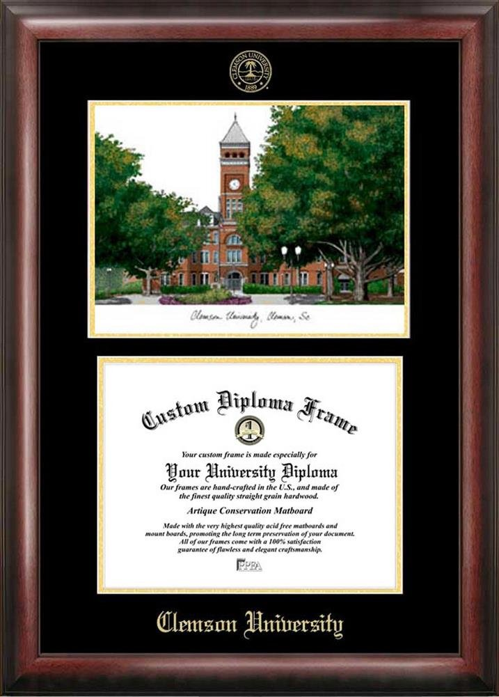 Amazon.com : Clemson University Tigers Diploma Frame with Limited ...
