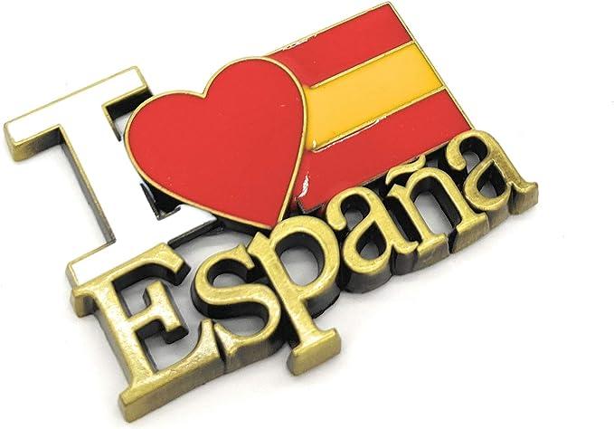 MovilCom® - iman Nevera  Figuras magneticas   imanes Nevera Personalizados de España   diseño Exclusivo Recuerdo de España (Mod.001): Amazon.es: Hogar