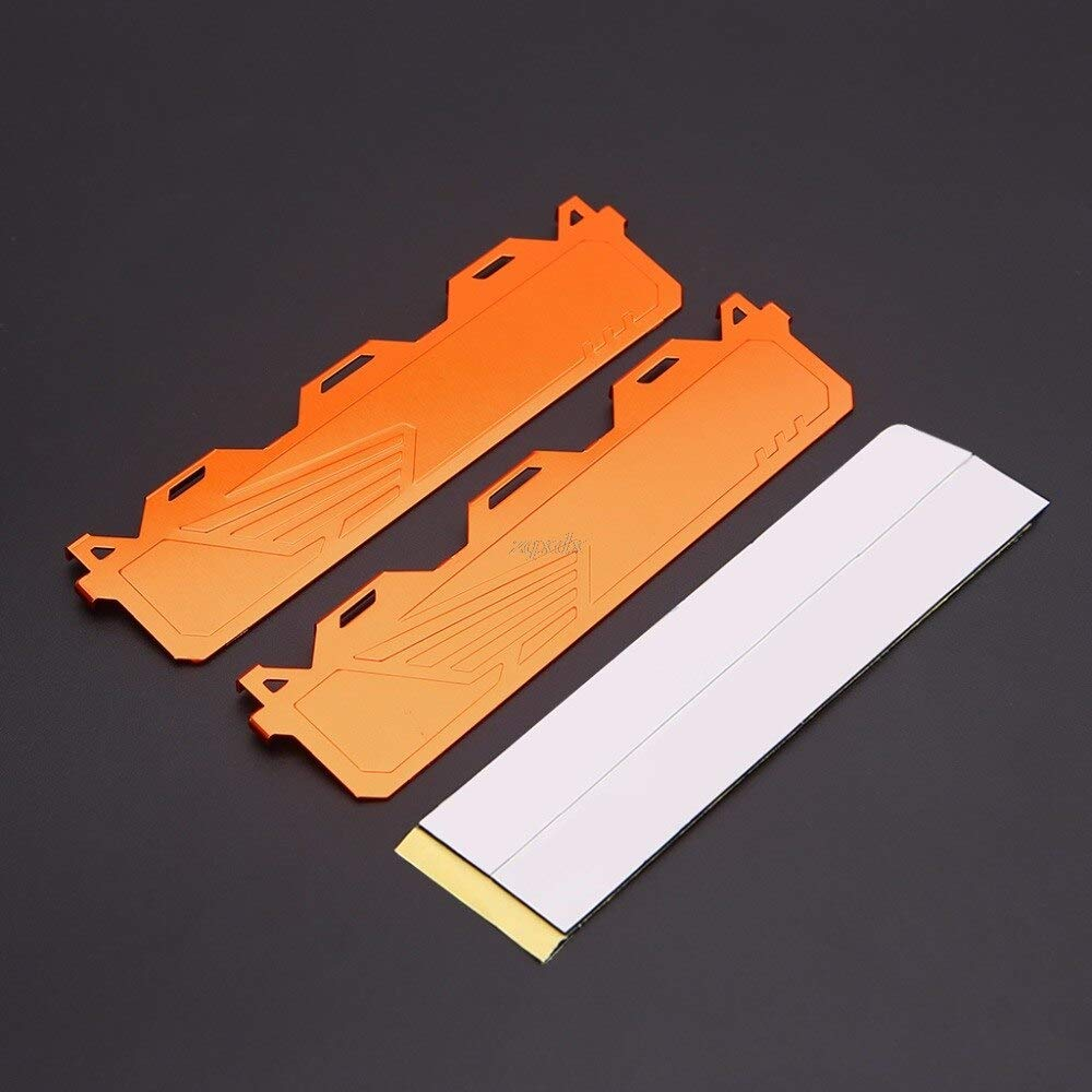 TL-ANALOGX RAM Heatsink Memory Cooler Cooling heatsink Vest Radiator for ram Memory chip Heat Sink DDR1,2,3,4 with Thermal Stickers
