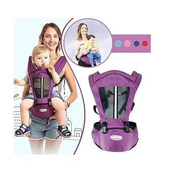 0a4852512b3 Amazon.com   Denbi Infant Baby Carrier - Newborn Kid Sling Wrap Backpack  Front Back Chest Ergonomic 4 Position   Baby
