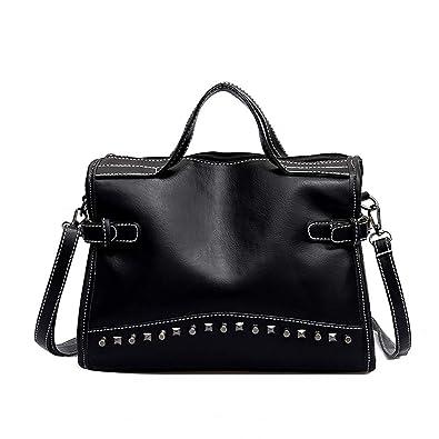 Amazon.com: Bolsas para mujer con diseño de bolso de piel ...