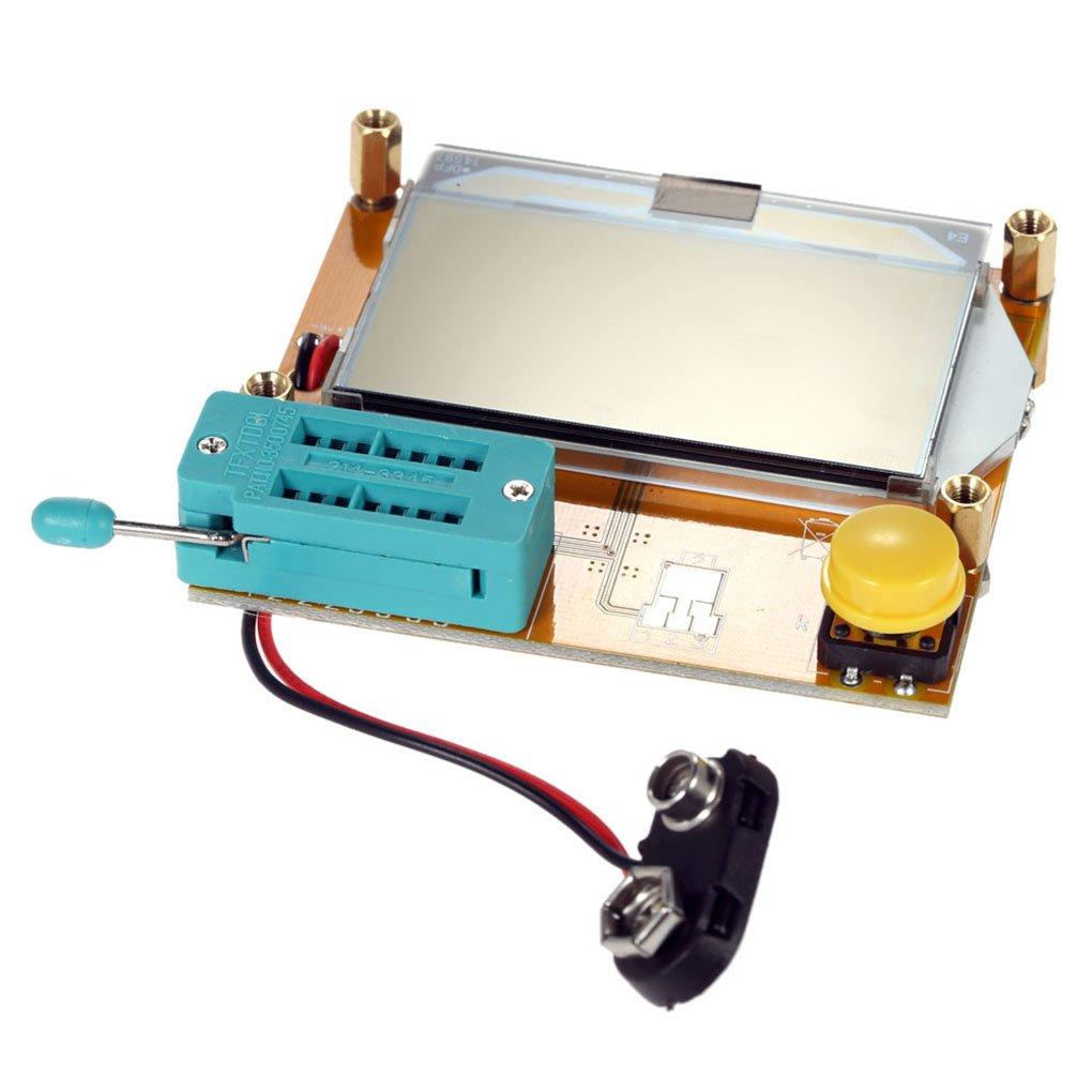 Onepeak Lcd Display Esr Transistor Tester Multifunctional Resistor Thyristor Inductor Capacitor Scr Mos Tube Triode