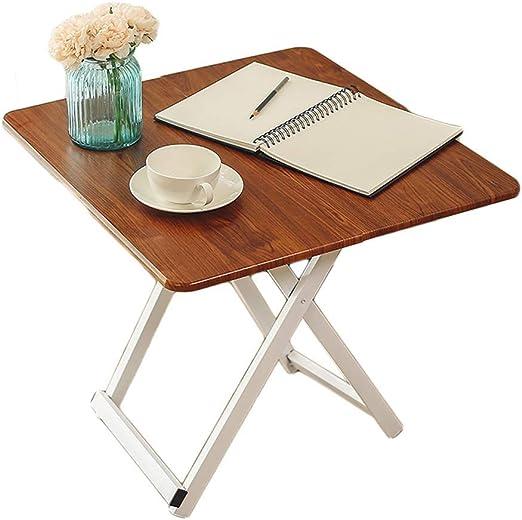 TYUIO Mesa plegable para laptop | Escritorio de la cama | Desayuno ...
