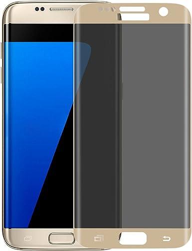 Samsung Galaxy S7 Edge teléfono pantalla completa cobertura negro ...