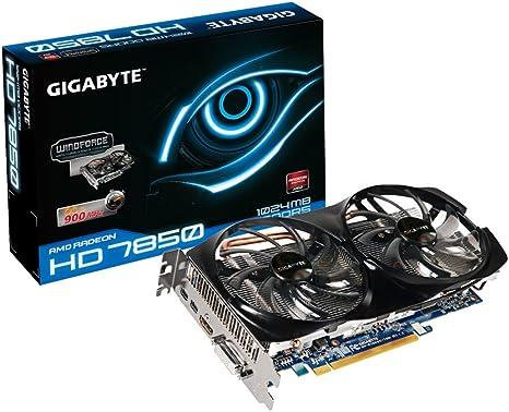 GigaByte Radeon HD 7850 - Tarjeta Grafica (1 GB GDDR5, 256 bit ...