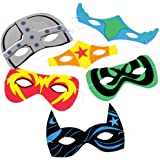 Foam Superhero Masks