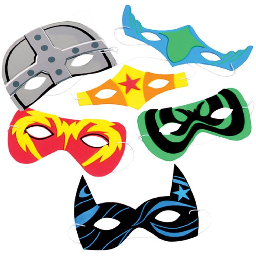 U.S. Toy Foam Superhero Masks StealStreet (Home) SS-UST-CM56