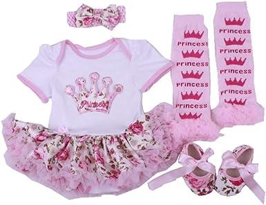 Amazon.com: Conjunto de ropa para bebé, diseño floral ...