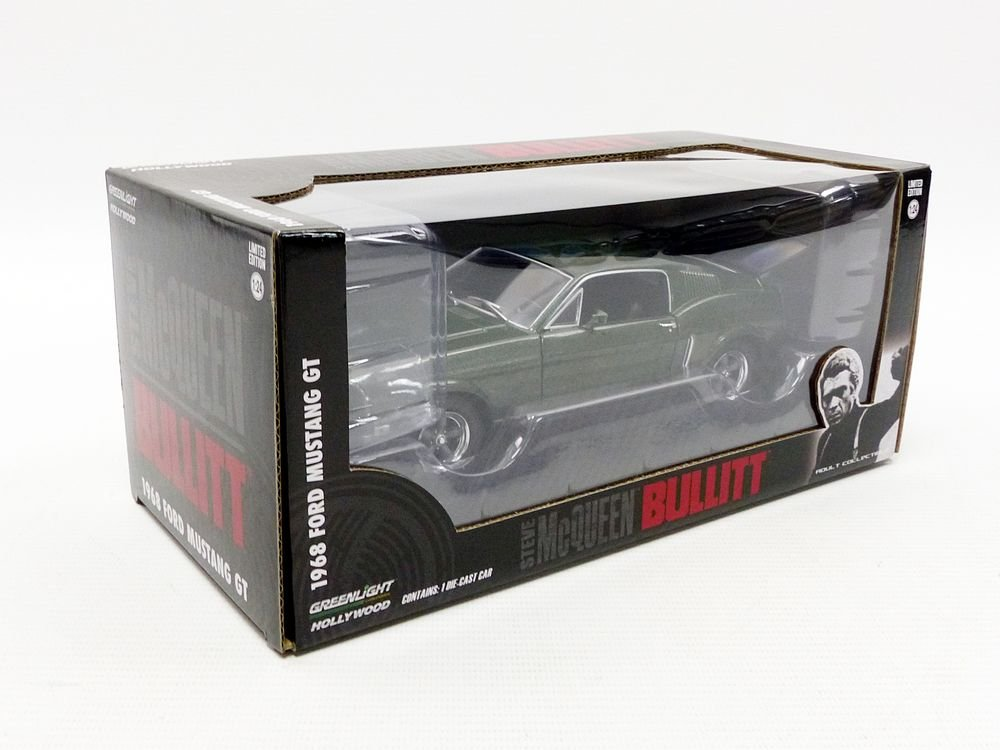 Greenlight - (1:24 Scale Bullitt (1968) - 1968 Ford Mustang GT Fastback - 84041 by Greenlight (Image #6)