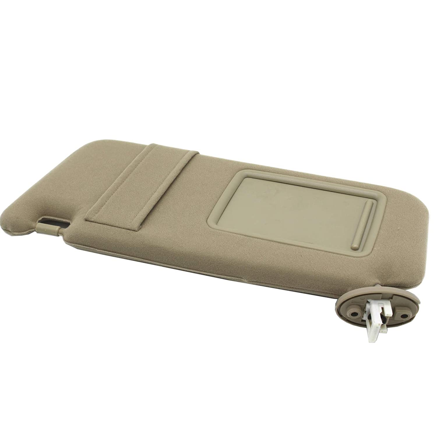 Ezzy Auto Beige Left Driver Side Sun Visor fit for Toyota Venza with Sunroof 2009 2010 2011 2012 2013 2014 2015 2016