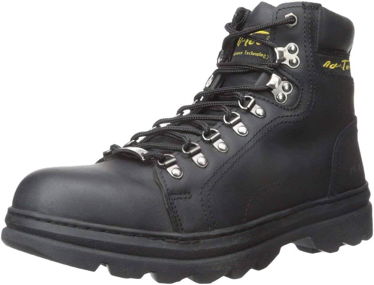 AdTec Men's 6 Inch Steel-Toe Work Hiking Boot