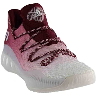 3a8f4a5617da adidas Crazy Explosive Low Primeknit Mens in Grey White Burgundy by, 7.5