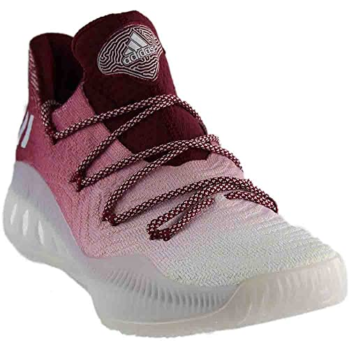 huge discount 3cc26 a1788 adidas Crazy Explosive 2017 Primeknit Low Shoe Mens Basketball 9 Light  Grey-White-Collegiate
