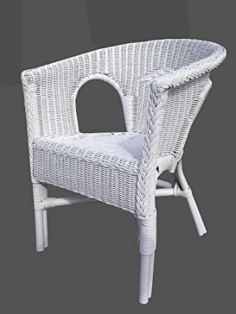 Stuhl Weiß Rattansessel Korbsessel Rattan Sessel Stuhl Stühle