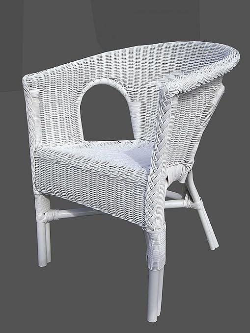 Korbstuhl Korbsessel.Rattan Stuhl Weiß Rattansessel Korbsessel Rattan Sessel Stuhl Stühle Korbstuhl
