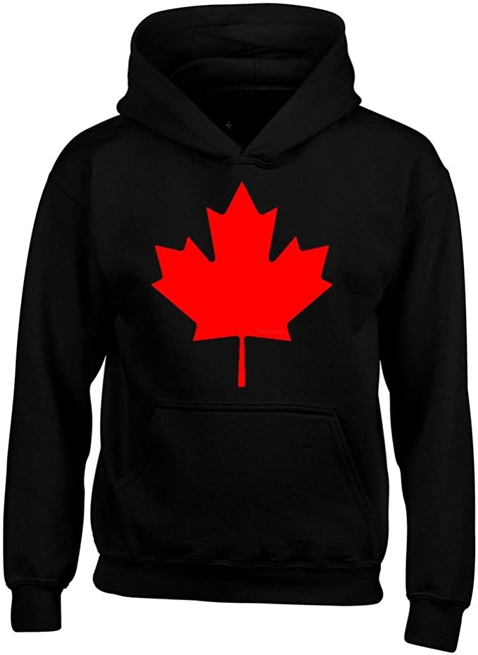 Canada Red Leaf Hoodie Sweatshirts