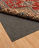 NaturalAreaRugs Luxury Non Slip Felt Rug Pad, 100% Felt with Rubber Backing, 8-Feet by 10-Feet