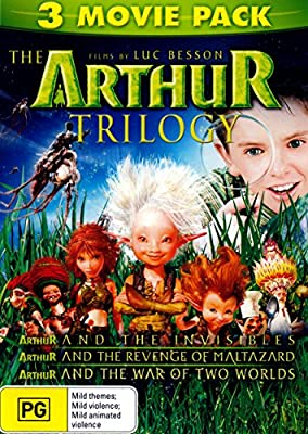 The Arthur Trilogy Arthur And The Invisibles Arthur And The Revenge Of Maltazard Arthur And The War Of Two Worlds Luc Besson David Bowie Voice Snoop Dogg Voice Madonna Voice Freddie Highmore Amazon Com Au Movies
