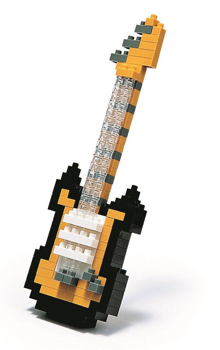 Juego de construcción guitarra eléctrica negra 160 piezas: Amazon.es: Juguetes y juegos
