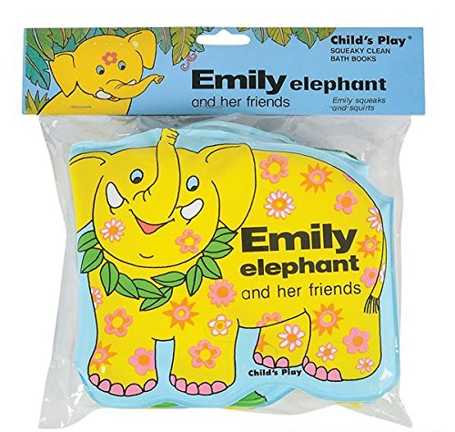 EMILY ELEPHANT AND HER FRIENDS BATH BOOK, Case of 48