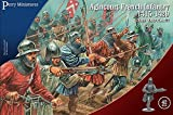 Perry Miniatures - Set AO 50 Agincourt French Infantry 1415-29 Plastic 28mm Toy Soldiers Set