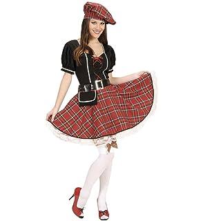 Disfraz escocesa mujer - L: Amazon.es: Juguetes y juegos