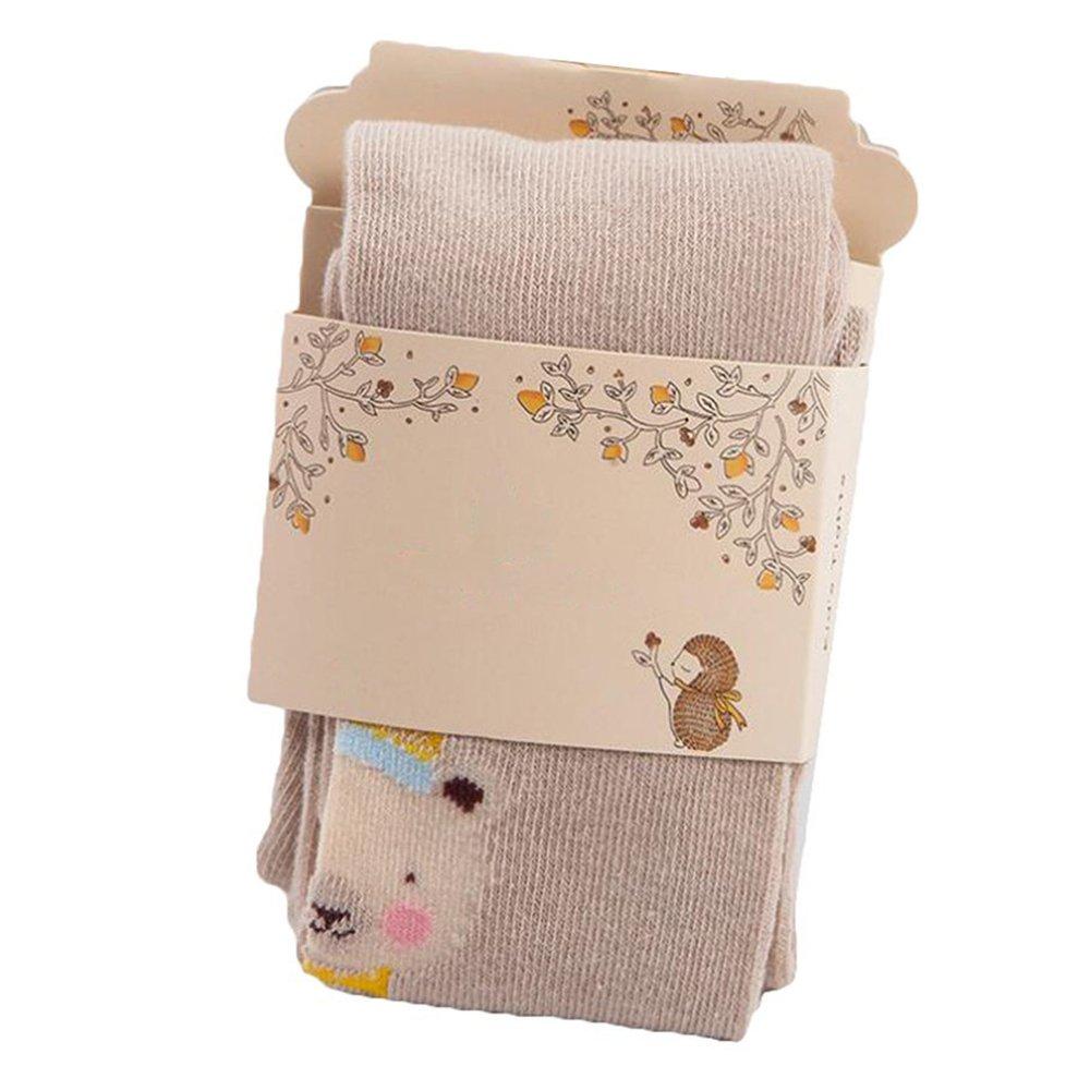 KINDOYO Medias para Bebé Niñas Invierno Pantys de algodón Animal lindo Calcetines Largos Legging Tights, 0-7 años
