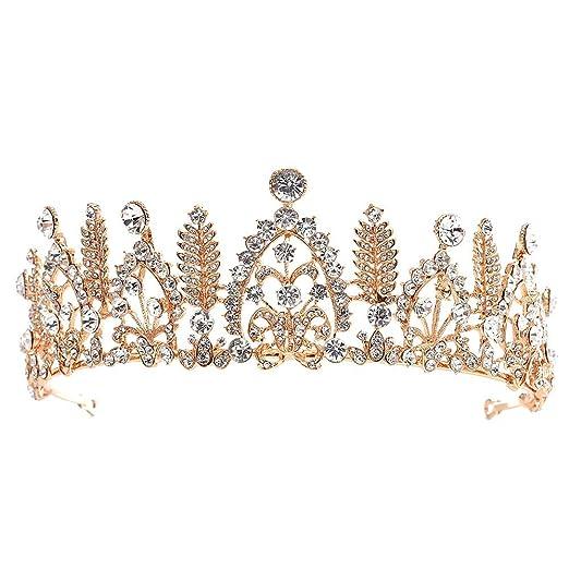 Cumpleaños Tiara Boda Coronas de Cristal Gema Accesorios de ...