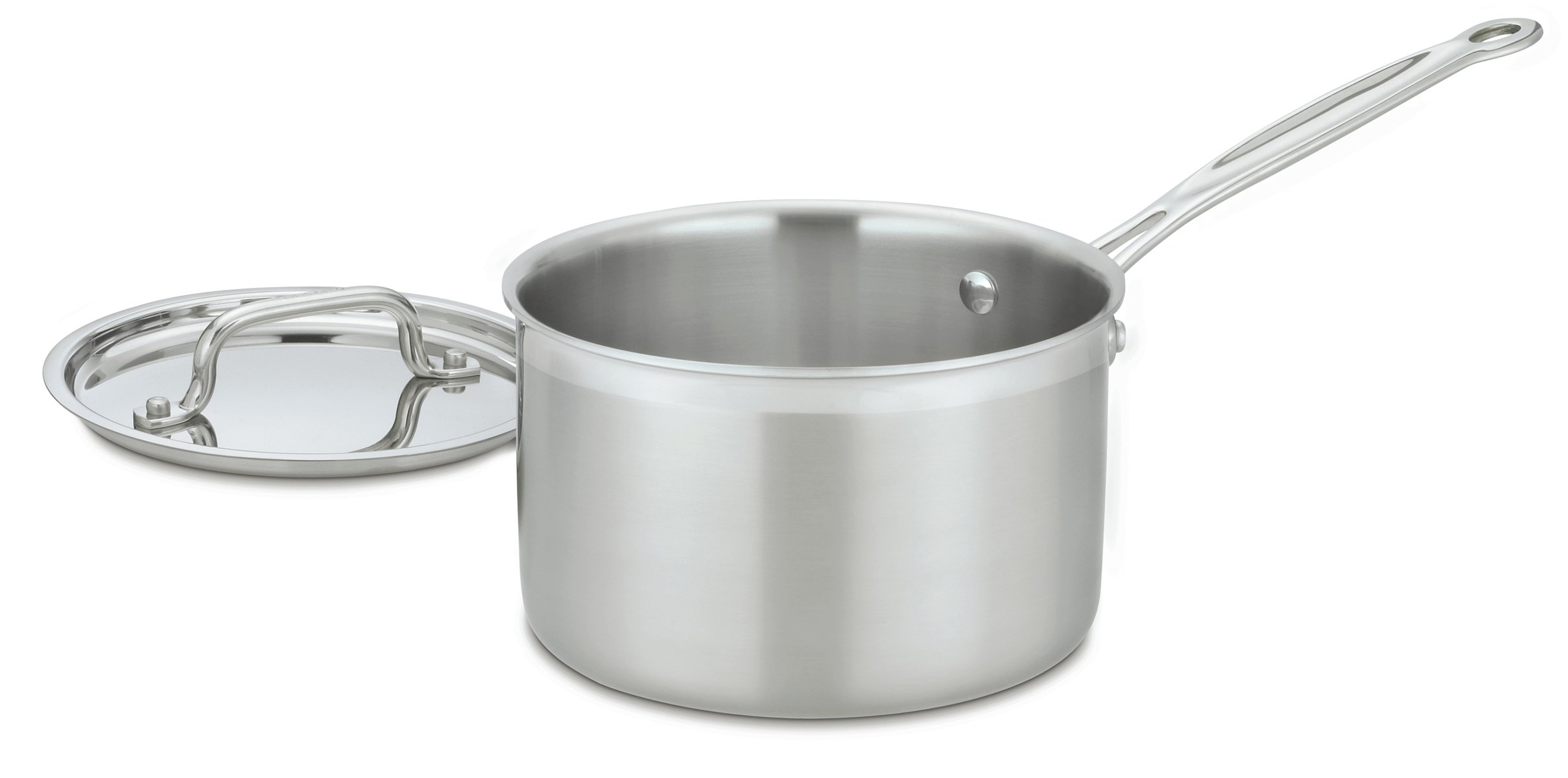 Cuisinart MCP194-20 MultiClad Pro Stainless-Steel 4-Quart Saucepan with Cover