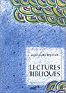 Lectures bibliques par Pelletier
