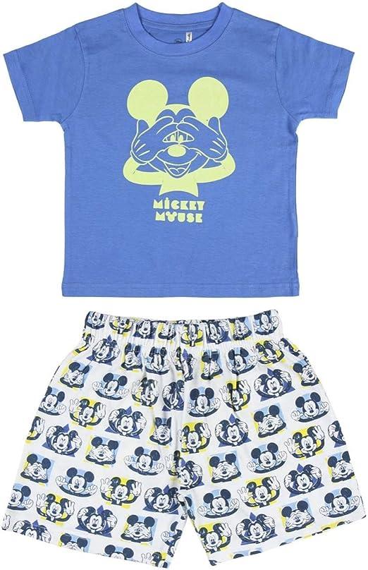 Cerdá Pijama Que Alumbran En La Oscuridad Niño de Mickey Mouse ...