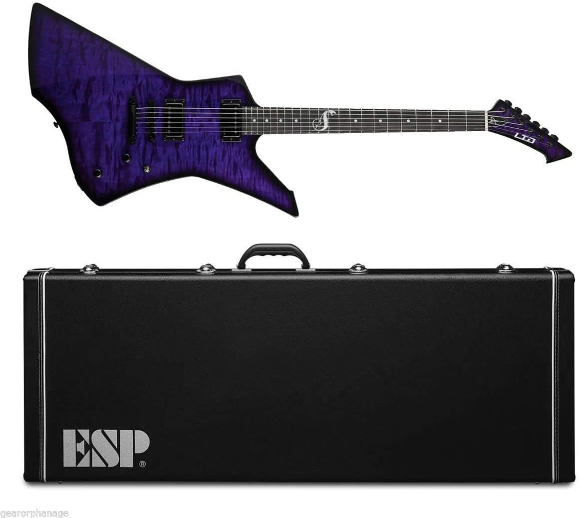 ESP Guitarra Eléctica Snakebyte Baritone SE Purple Limited Edition ...
