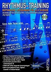 Rhythmus-Training - rhythmische Leseübungen für alle Musiker - Notenheft mit CD