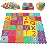 Swonuk Baby Foam Play Mat, 36pcs 5.9x5.9 Inches