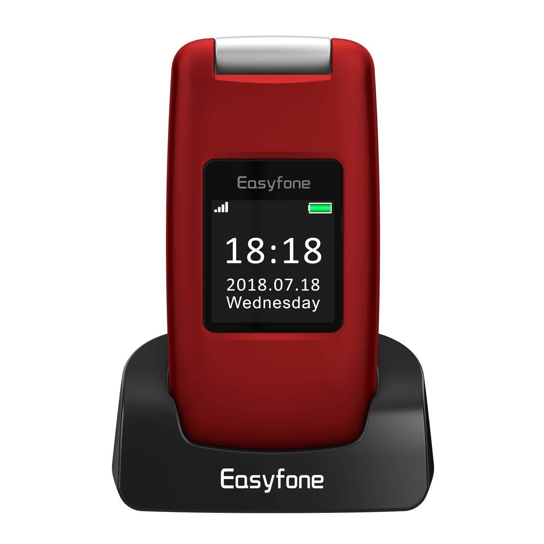 Easyfone Prime A1 3g Unlocked Senior Flip Cell Phone Big