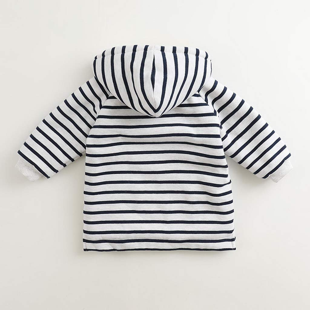 marc janie Little Girls Autumn Fleece Lined Thick Long Sweatshirts Girls Tops