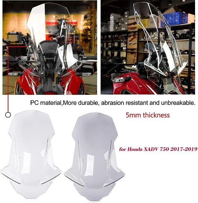 BTZHY XADV X Adv-750 X-ADV XADV 750 3M Logo Riflettente Laterale Pannello Colori dellautoadesivo Motociclo con Il Marchio Appli Color : 4