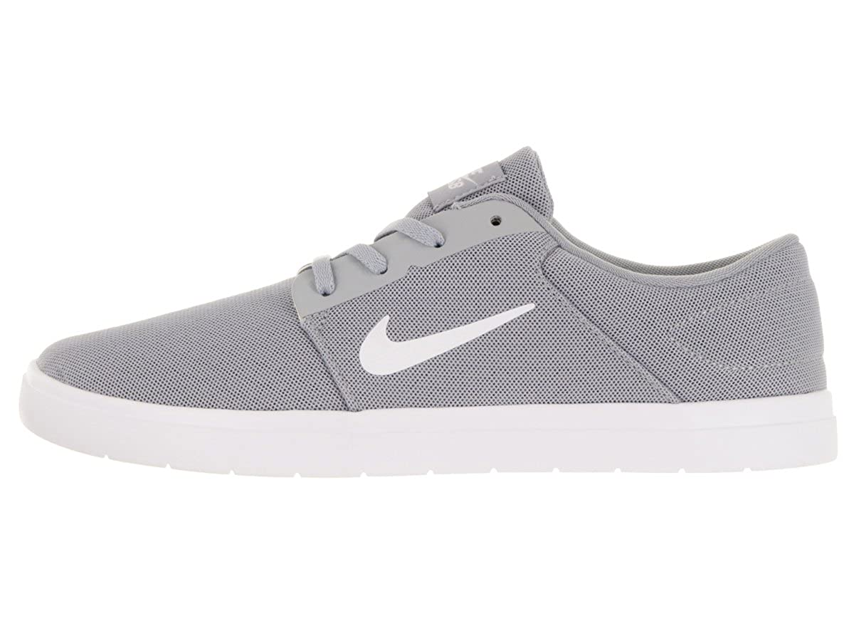 6523f07847f419 Nike Mens Sb Portmore Ultralight Wolf Grey White Cool Grey Skate Shoe 12 Men  US  Buy Online at Low Prices in India - Amazon.in