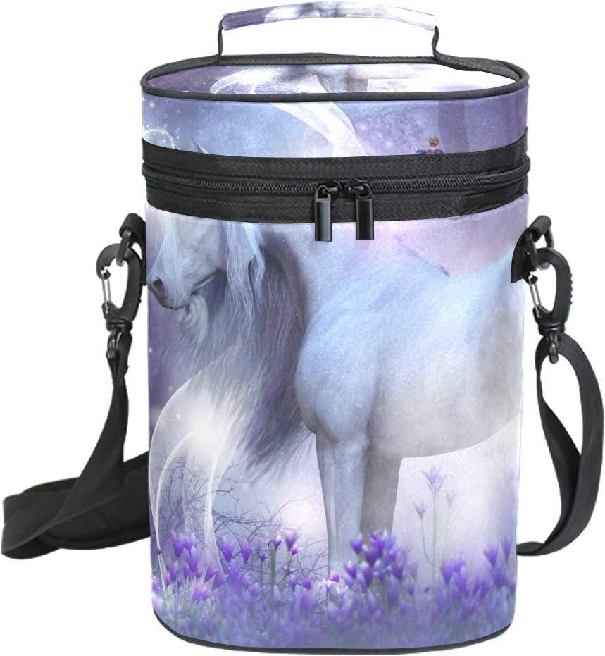 Lupinz Majestic Unicorn - Bolsa de vino con diseño de hadas ...