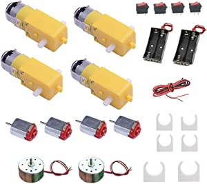 DC Motor Kits Accessories for Robot Car Science Projects