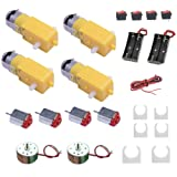 DC Motor Kits Accessories for Robot Car Science