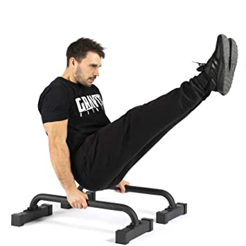 Gravity Fitness Small Pro Parallettes 2.0 - Nouvelles poignées de 38 mm -  Exercices de gymnastique 3b1391003c9