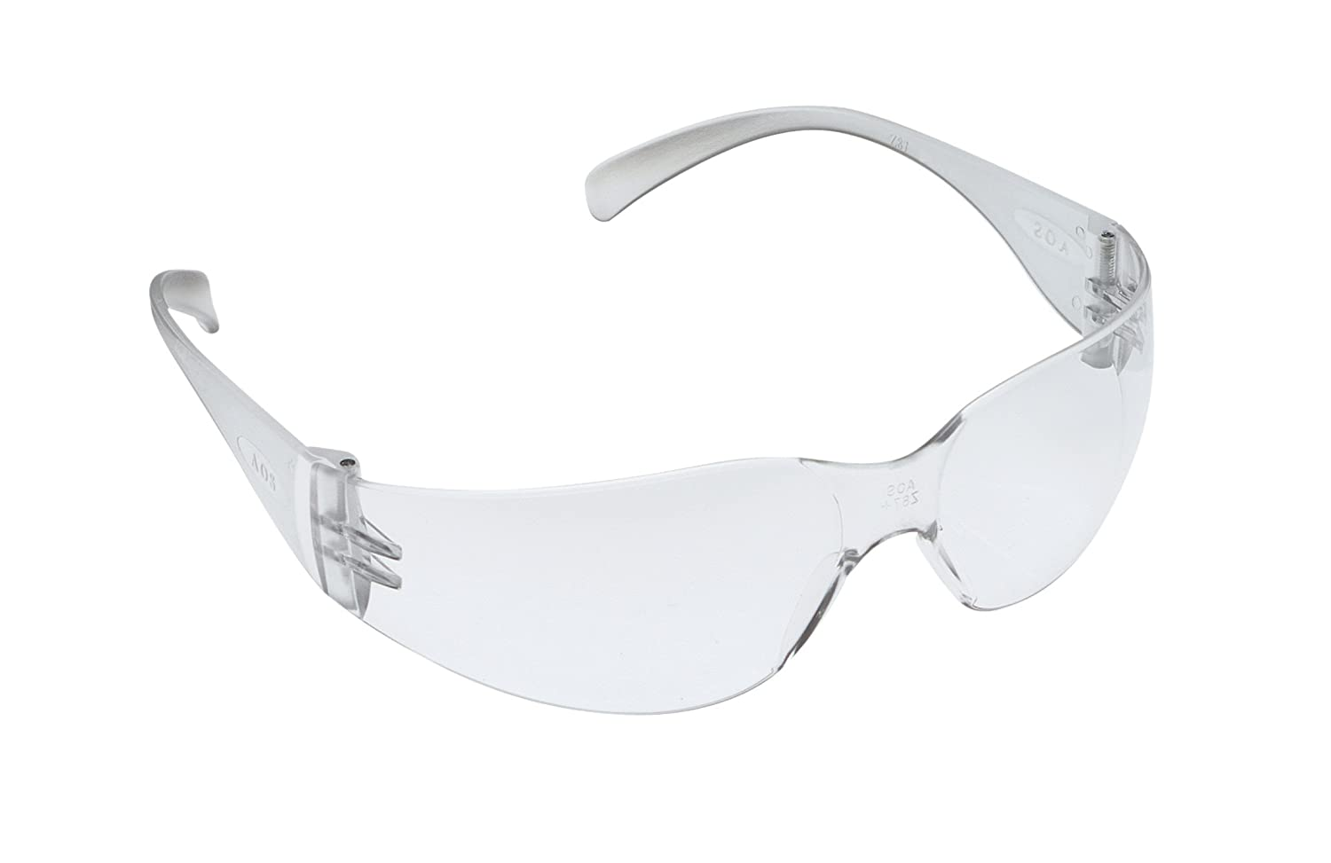 3M Tekk 11329 Virtua Anti-Fog Safety Glasses, Clear Frame, Clear Lens, 3-PACK
