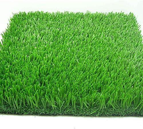 GAPING 人工芝、人工芝、現実的な庭のペットの犬の芝生、2色で利用可能、15 Mmパイル高密度休暇の芝生 (Color : Dark green, Size : 2x1.5m)