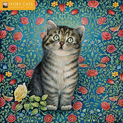 Ivory Cats - Lesley Anne Ivorys Katzen 2020: Original Flame Tree Publishing-Kalender [Kalender] por Flame Tree Studio