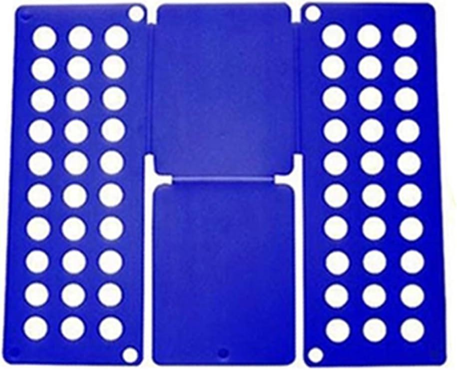 Ever Oasis Doblador de Ropa Infantil - Duradero Organizador Plegable de Camisas Camisetas Calzones - Uso Fácil, Sencillo y Rápido, Ideal Regalo para Hogar y Viaje, 40 x 47.5cm, Color Azul: Amazon.es: Hogar